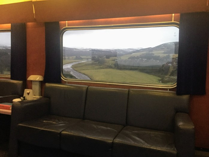 Sleeper Train to Inverness