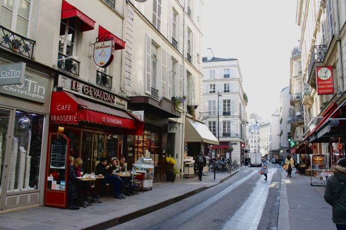 Street in St Germain, Paris