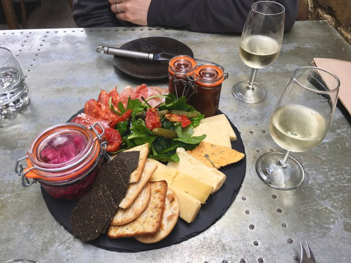 Charcuterie and cheese at The Mount Vineyard