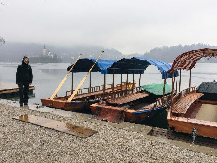 Raining in Bled