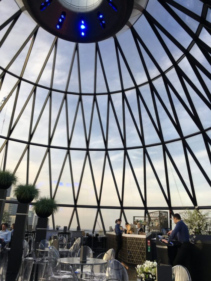 Best London Views - Searcys at The Gherkin