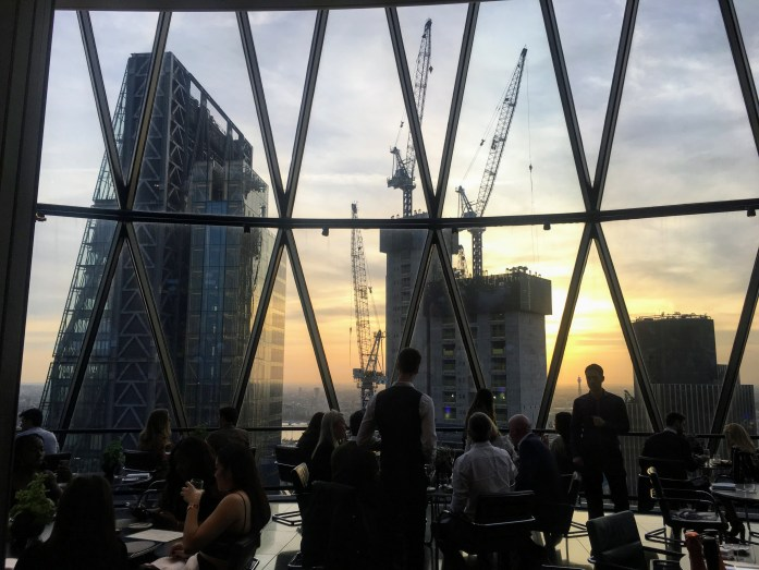 Best London Views - Searcy's at The Gherkin