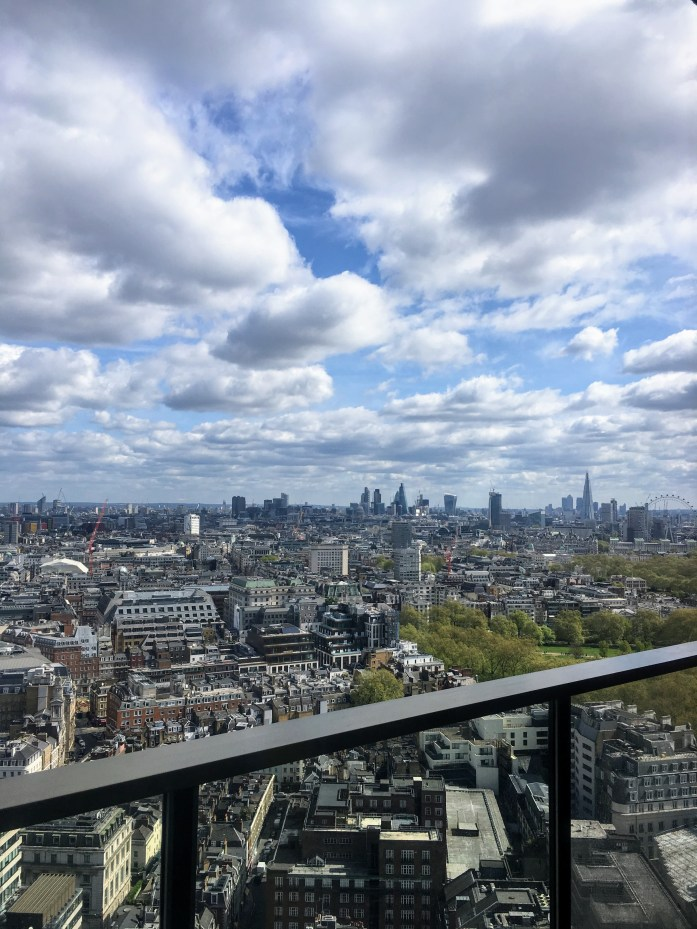 Best Rooftop Views in London: Galvin at Windows, London Hilton Park Lane
