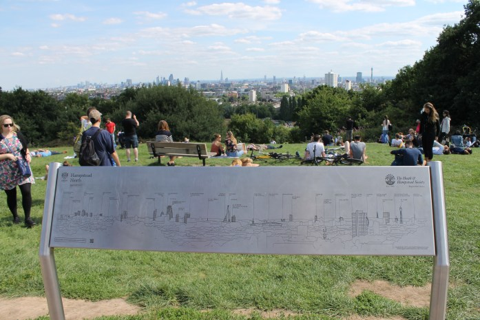 Views of London from Hampstead Heath