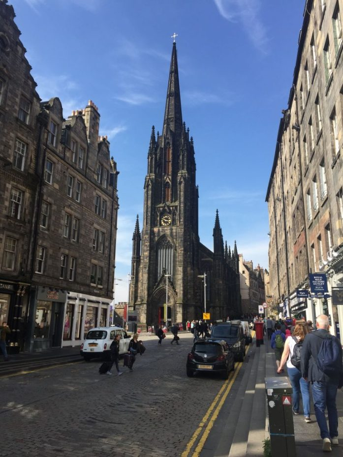 Royal Mile, Edinburgh, Scotland