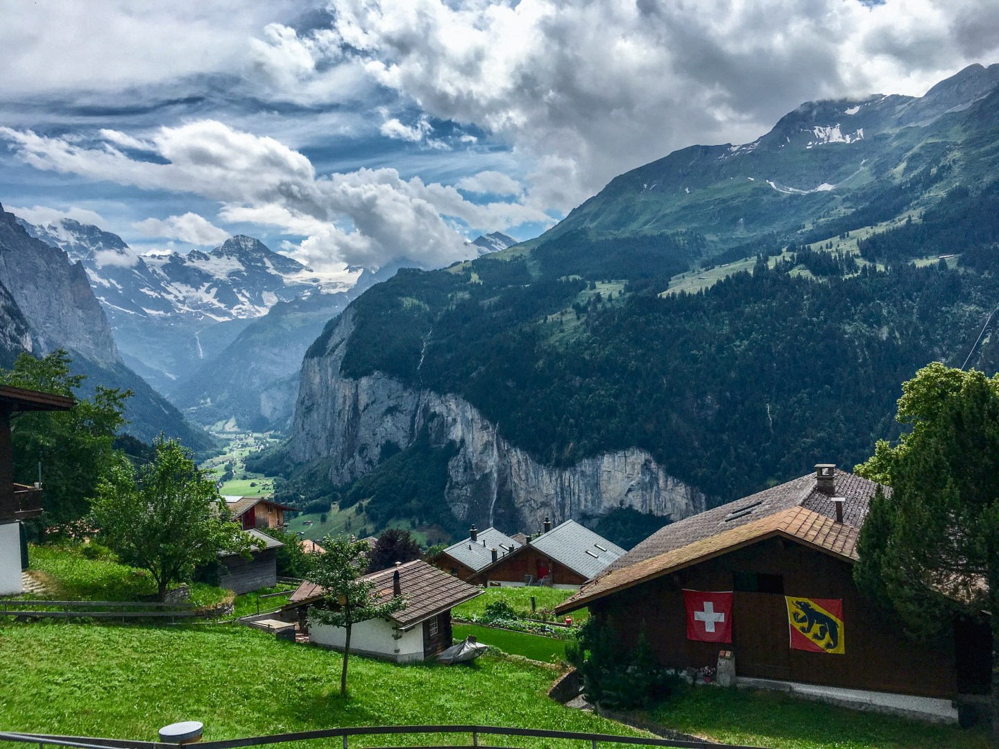 Backpacking in the Swiss Alps: Wengen and Lauterbrunnen