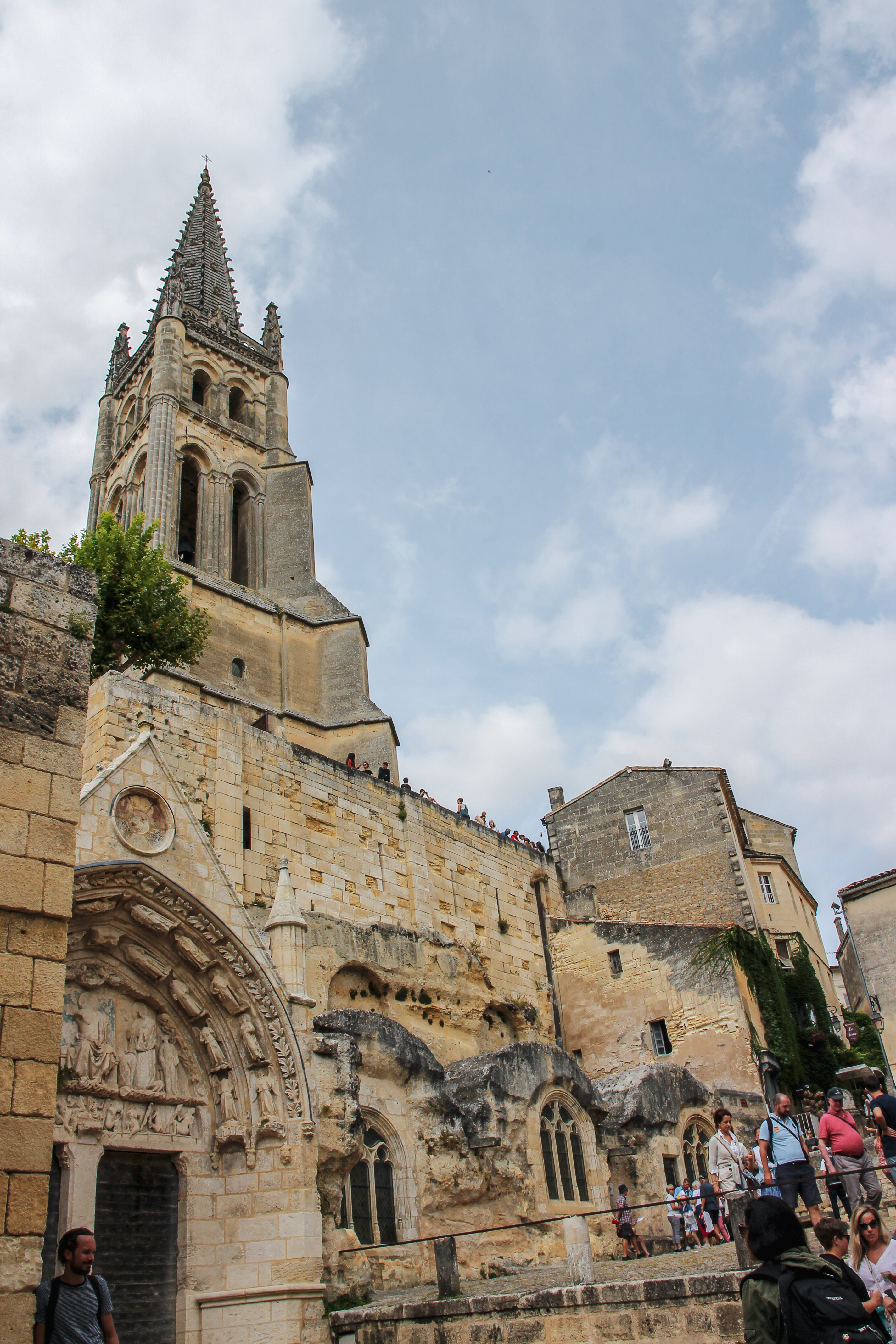 Monolithic Church St Emilion