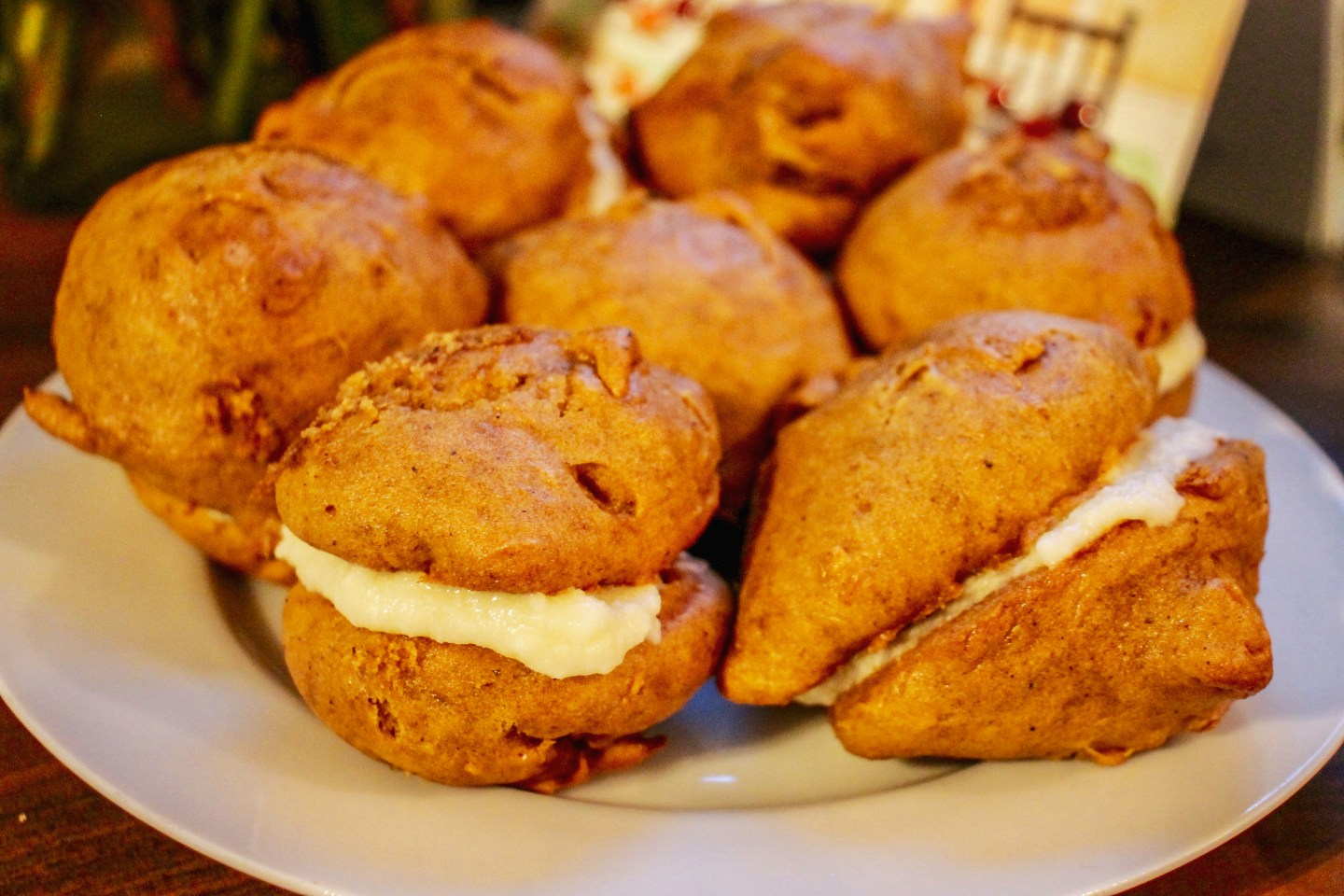 My Mom's Gluten-Free Pumpkin Whoopie Pies and Expat Thanksgiving
