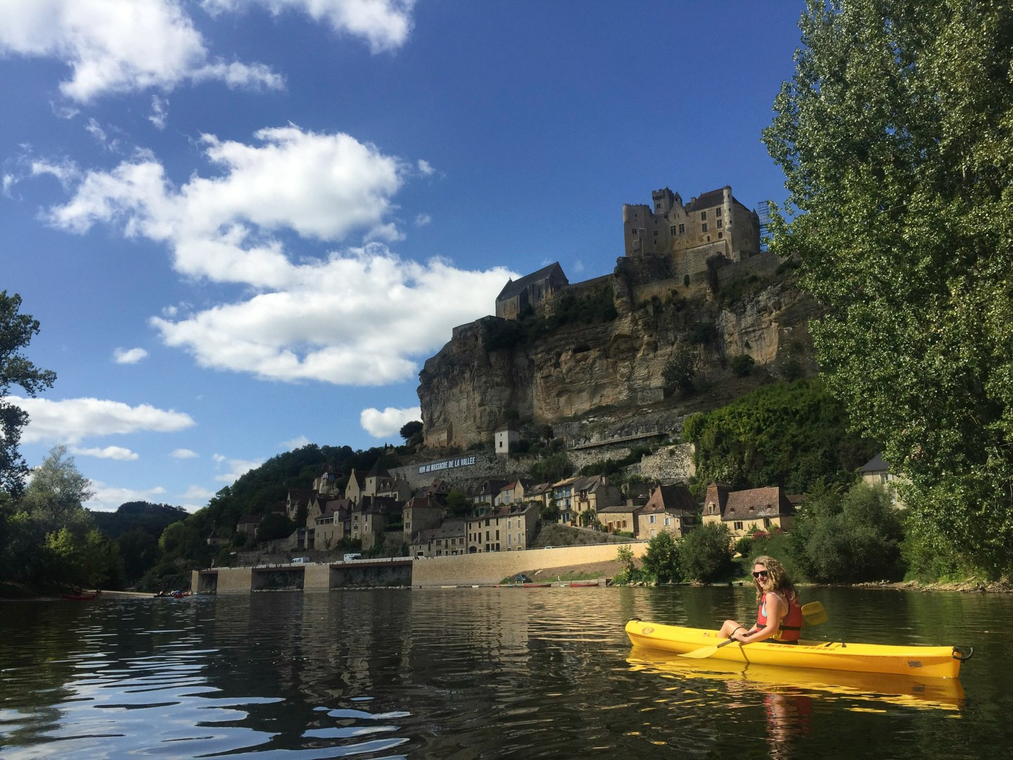 Kayaking the Dordogne and Le Jardins de Marqueyssac