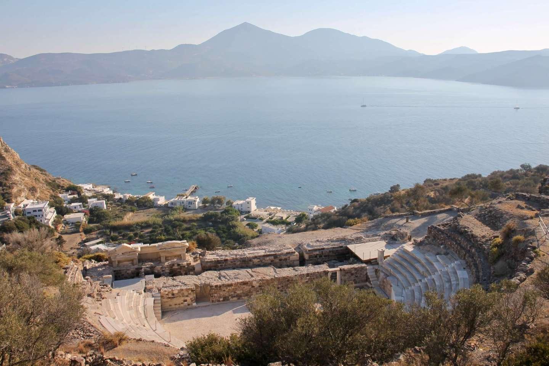 Ancient Roman Theater, Milos