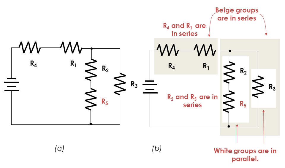 total current in a series circuit