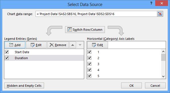 dashboard select data source