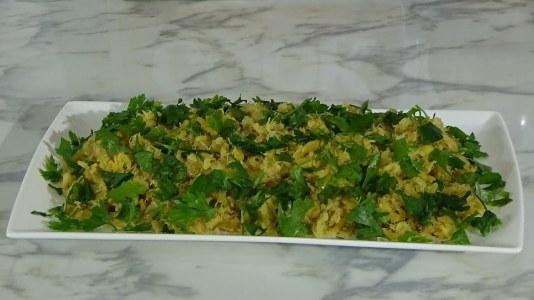 codfish, typical, portuguese, braz, parsley, batata palha