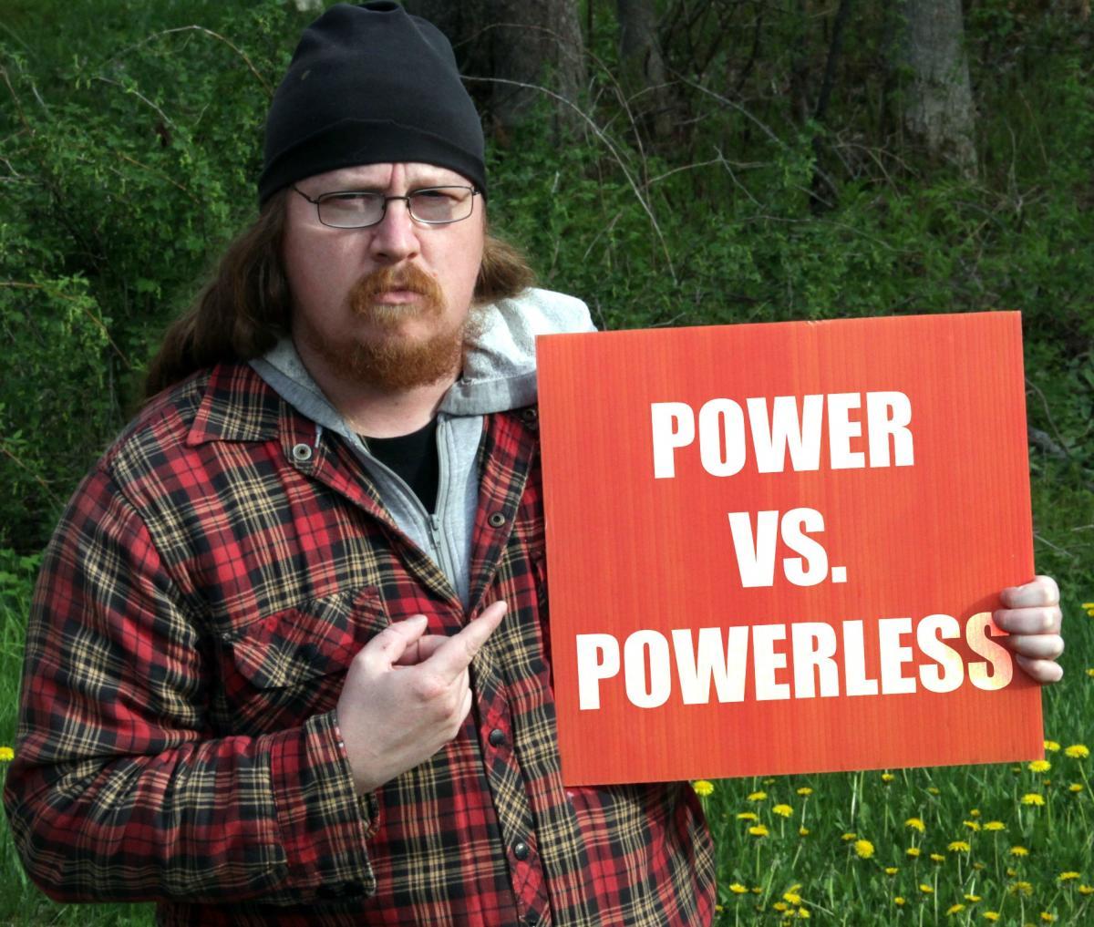 Clayton Windatt, artist and UBI activist