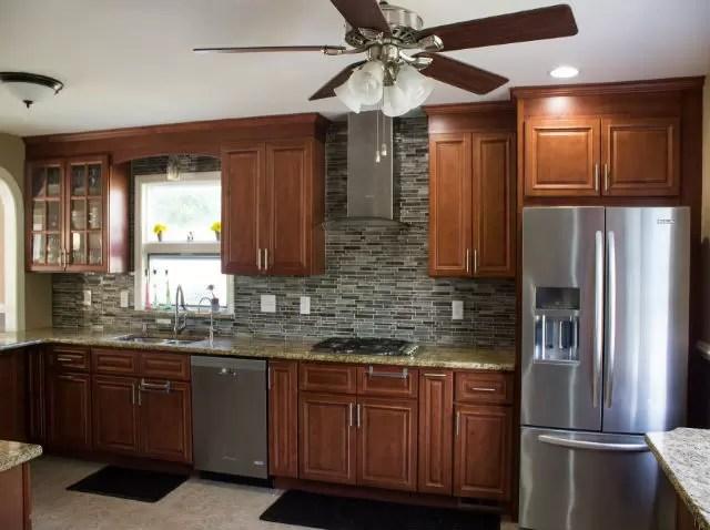remodeled kitchen round glass table sets renovation hillsborough nj the basic co september 2015