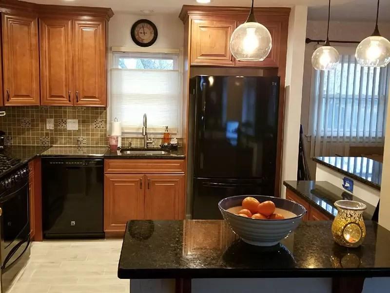 The Basic Kitchen Co  Professionally Remodeled Kitchens