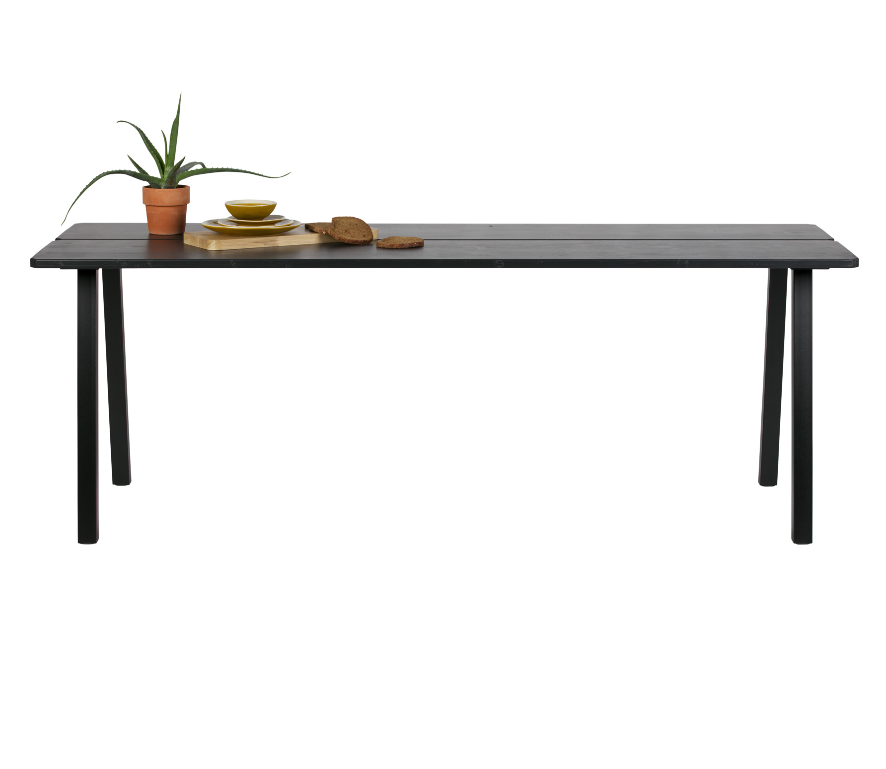 Eettafel zwart hout kopen  Online Internetwinkel