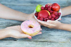 Donut vs Fruit