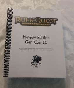RuneQuest Preview Soft-Focus Glamour Shot