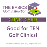 Clinic Coupon – Summer 2021