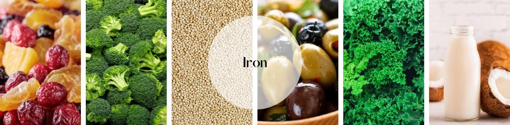 48 foods you need to add to your diet now. vitamins & minerials. iron