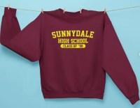 Etsy Sunnydale High Class of 99 Unisex Crew Neck Sweatshirt