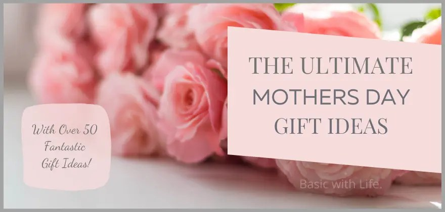 mothers day gift ideas banner