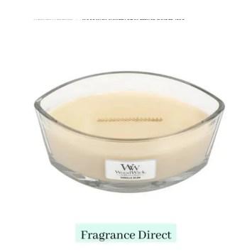 WoodWick Vanilla Bean Ellipse Candle 453g