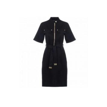 Barbour Women International Drifting black utility dress EQVVS