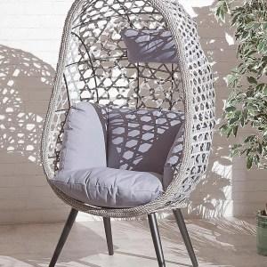 Naples Single Rattan Effect Chair