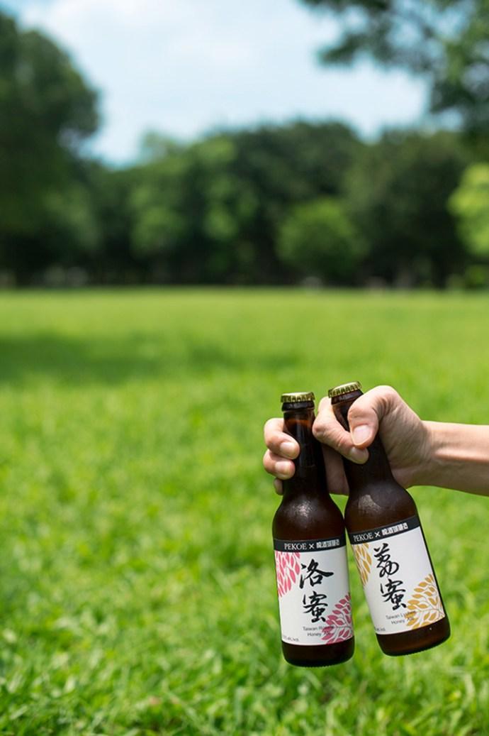 PEKOE X 啤酒頭‧洛蜜啤酒和荔蜜啤酒