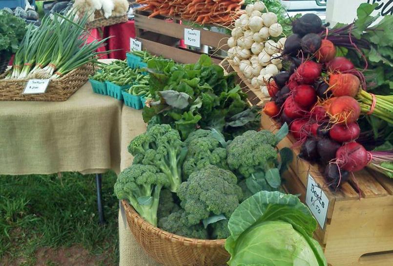 Sandbrook Meadows Farm, HLT Farmers Market, Basil Bandwagon