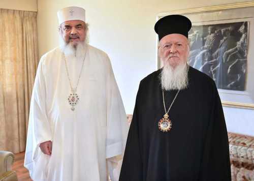 Patriarch Daniel and Patriarch Bartholomew