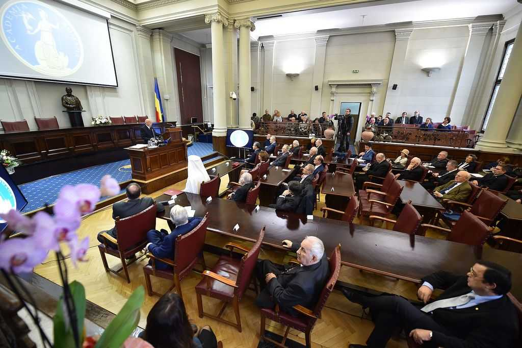Romanian Academy hosts solemn session to celebrate the Great Union Day