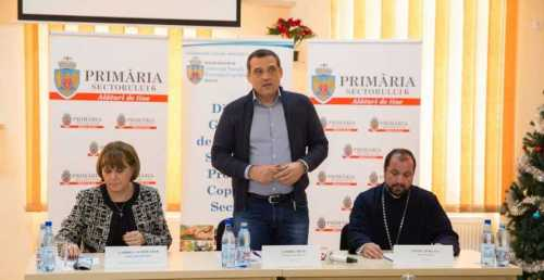 First Local Food Bank in Romania