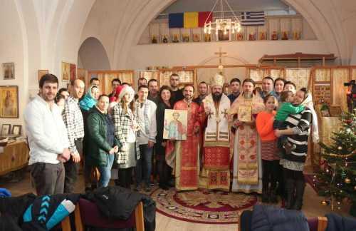 PS Macarie la slujba Sfântului Arhidiacon Ștefan