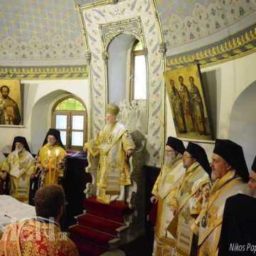 Sfantul Andrei cinstit la Patriarhia Ecumenica