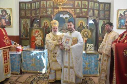 Episcopia Tulcii | Preot nou instalat la Cerbu