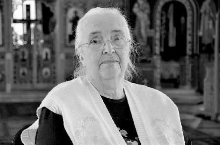 Lidia Stăniloae reposes in the Lord