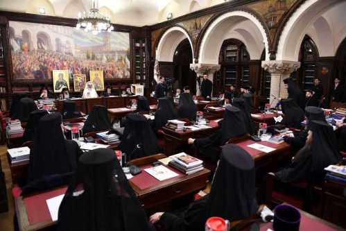 Sedinta Sf Sinod - feb 2017