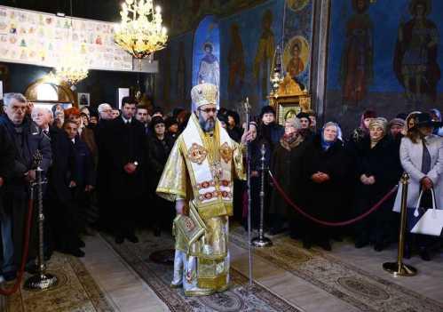 IPS Ciprian slujind la Buzău