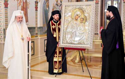 Patriarch Daniel Jordan Icon of the Mother of God