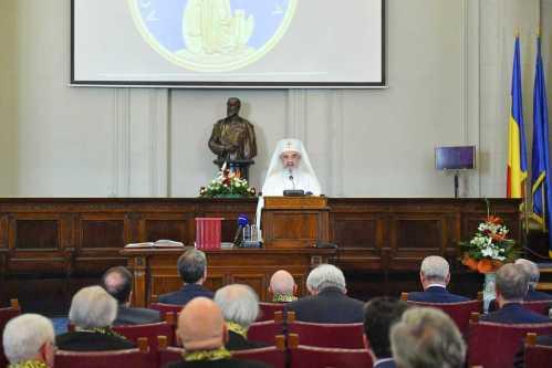 Patriarhul Daniel la Academia Română - 2017