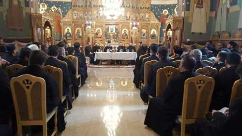 Şedinţă administrativă în protopopiatul Ilfov Nord. Întrunirea a fost prezidată de PS Timotei Prahoveanul