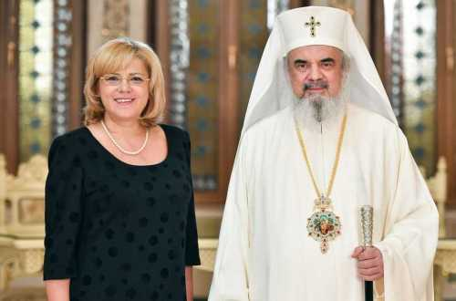 European Commissioner for regional policy Corina Crețu visits the Romanian Patriarchate