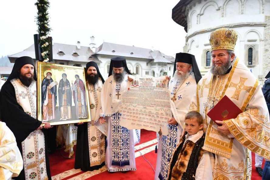 Mănăstirea Putna - Canonizarea sfinţilor putneni 2017 (42)