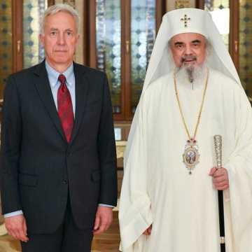 Patriarch Daniel and US Ambassador Hans Klemm