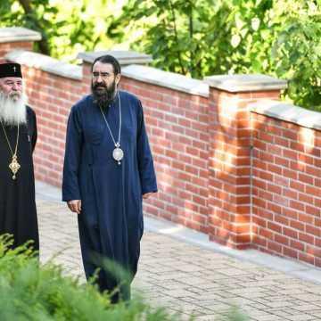 Patriarhul Daniel si membrii Sfantului Sinod al Bisericii Ortodoxe Romane au vizitat Parcul Resedintei Patriarhale (1)