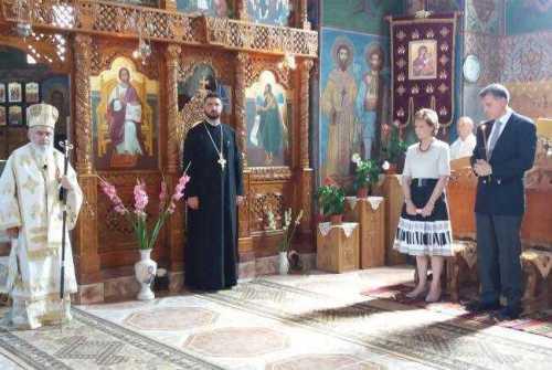 Principesa Moştenitoare Margareta a participat la o slujbă de pomenire la Săvârşin
