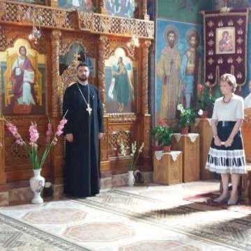 Principesa Mostenitoare Margareta a participat la o slujba de pomenire la Savarsin
